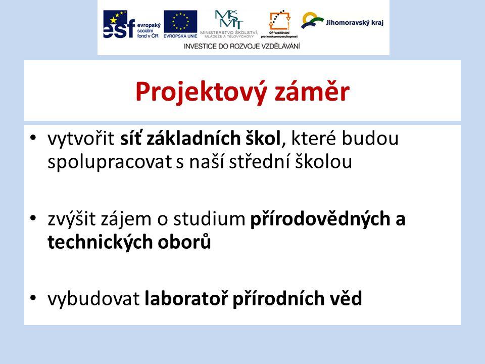 Spolupracující základní školy 1)ZŠ Tišnov, Smíškova 2)ZŠ Tišnov, nám.