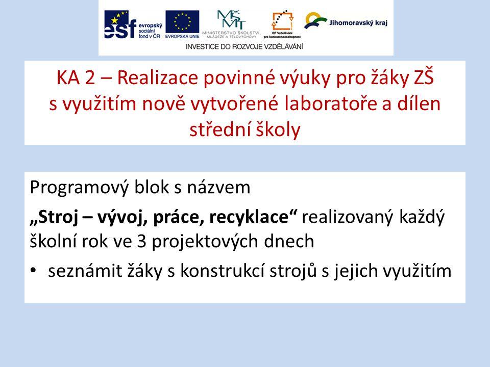 Žákovský projekt: Stroje v muzeu Škoda