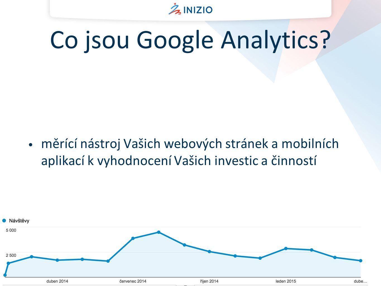 Jaké existují analytické nástroje.