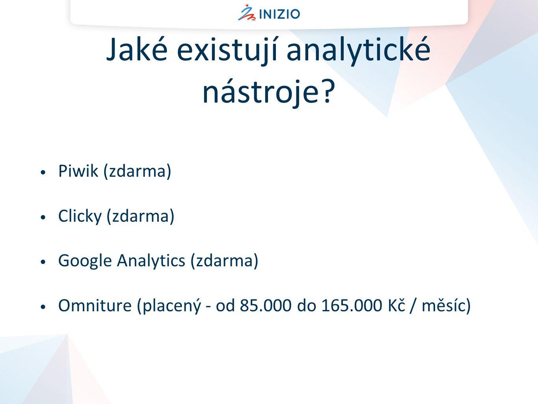Vyhodnocování získaných dat - obsah Kam lidé na vašich stránkách nejčastěji chodí.