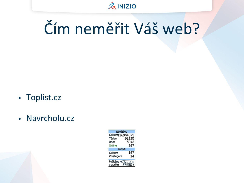 Cíle webových stránek Jaké jsou cíle Vašich webových stránek?