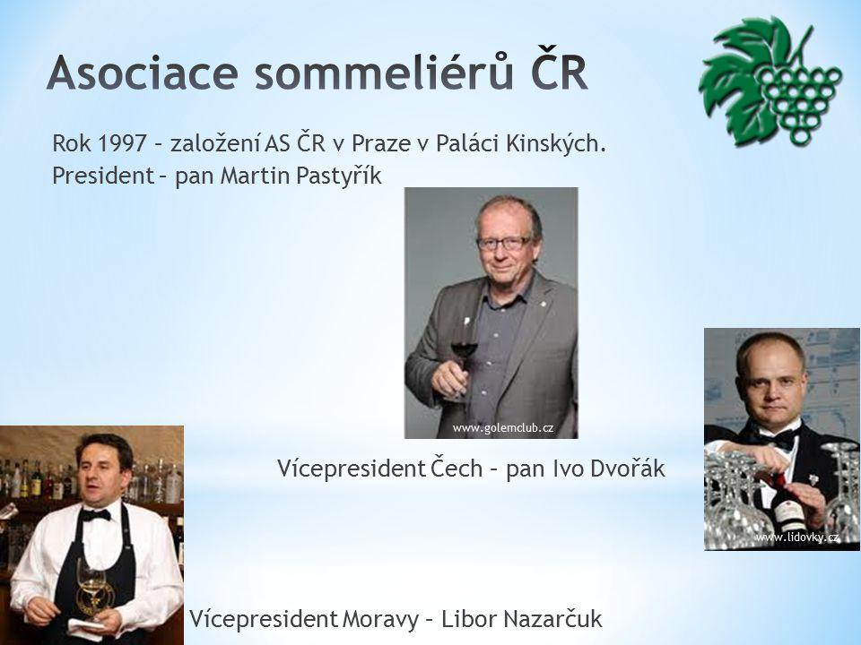 Rok 1997 – založení AS ČR v Praze v Paláci Kinských.