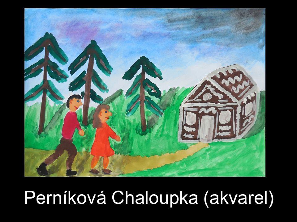 Perníková Chaloupka (akvarel)