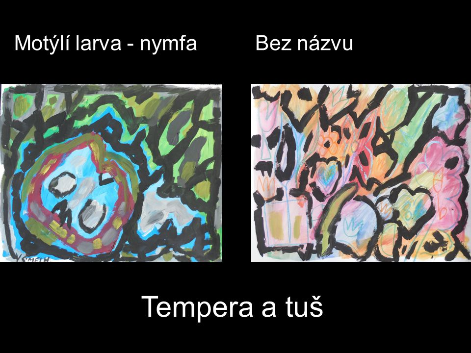 Motýlí larva - nymfaBez názvu