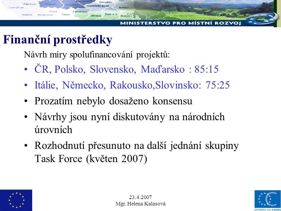 23.4.2007 Mgr.