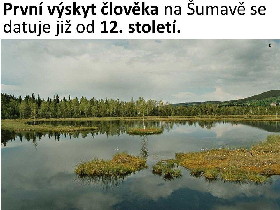 3 První výskyt člověka na Šumavě se datuje již od 12. století.