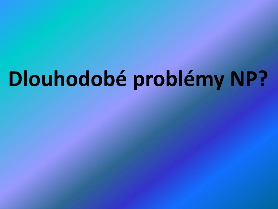 Dlouhodobé problémy NP?