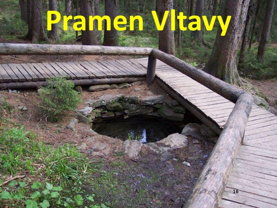 16 Pramen Vltavy