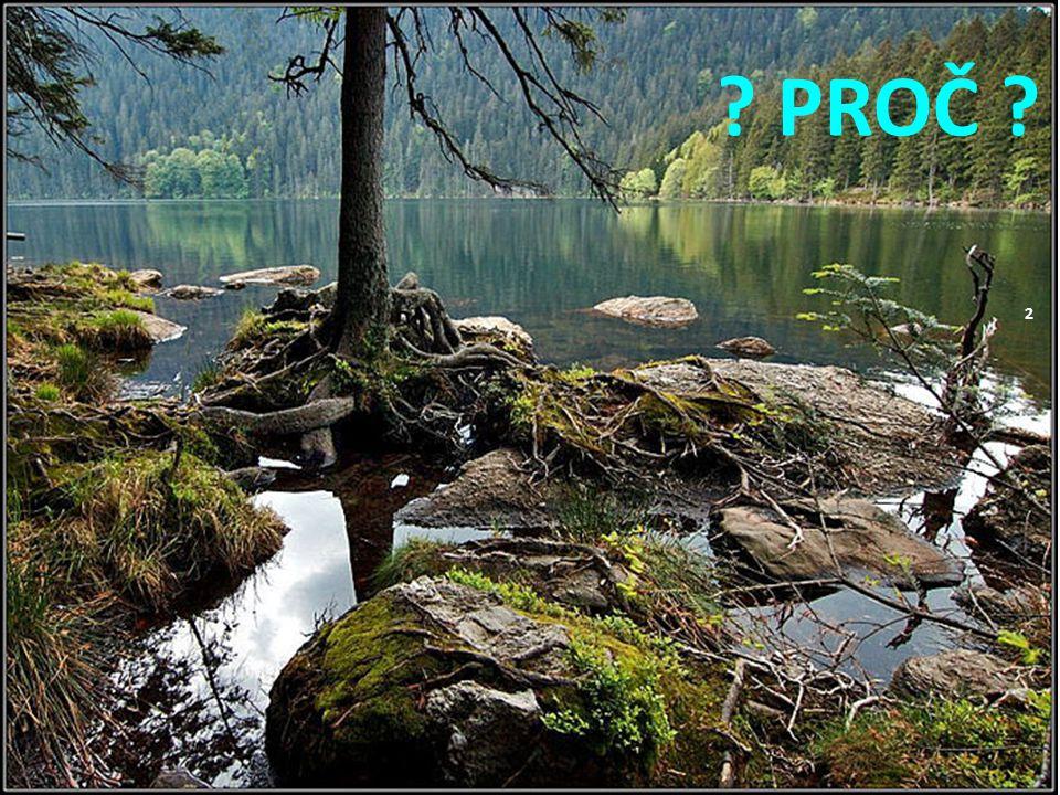 12 Přehrada pod Černým jezerem