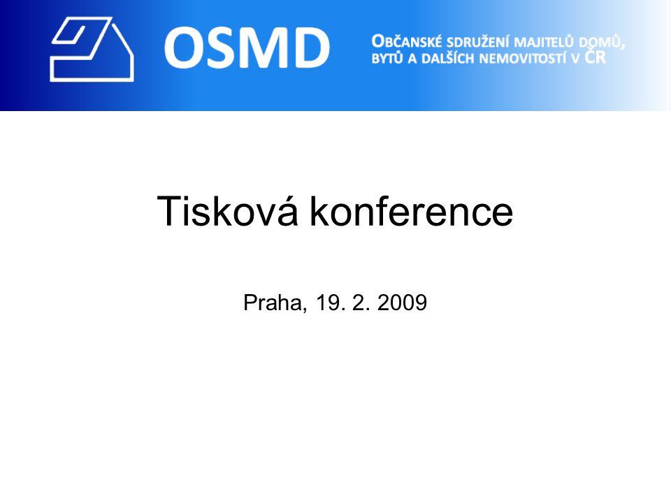 Tisková konference Praha, 19. 2. 2009