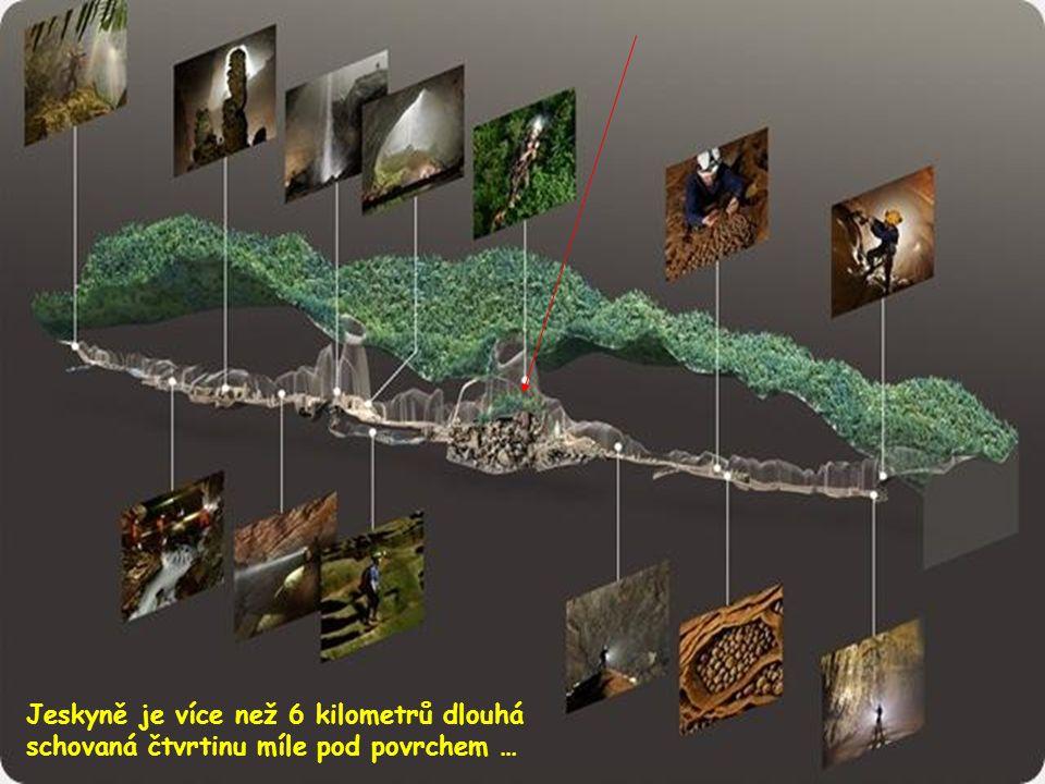 V jeskyni nikdo před tímto průzkumem nebyl, ani lidé z místní džungle, vzhledem k velkému množství podzemních vod, které vydávají mohutný až hrozivý z