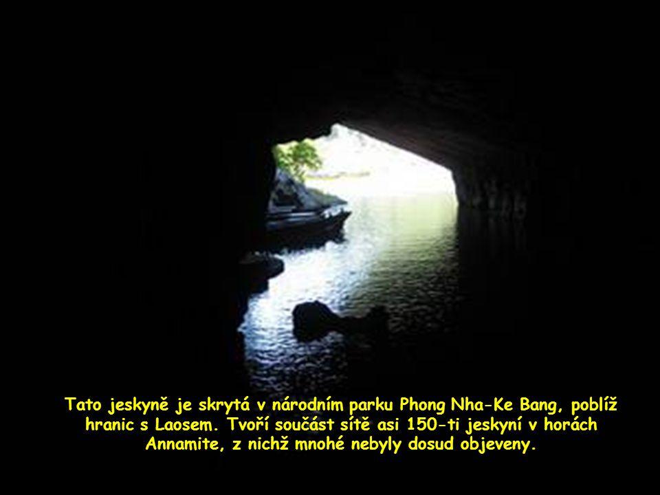 Část jeskyně která se kdysi zhroutila…