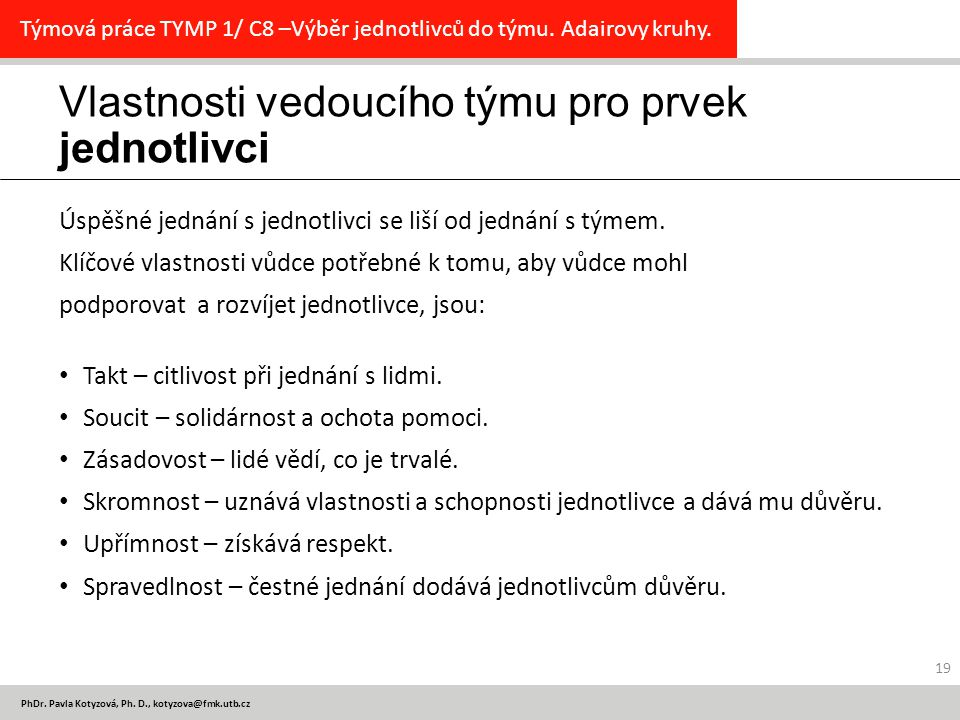 PhDr. Pavla Kotyzová, Ph.