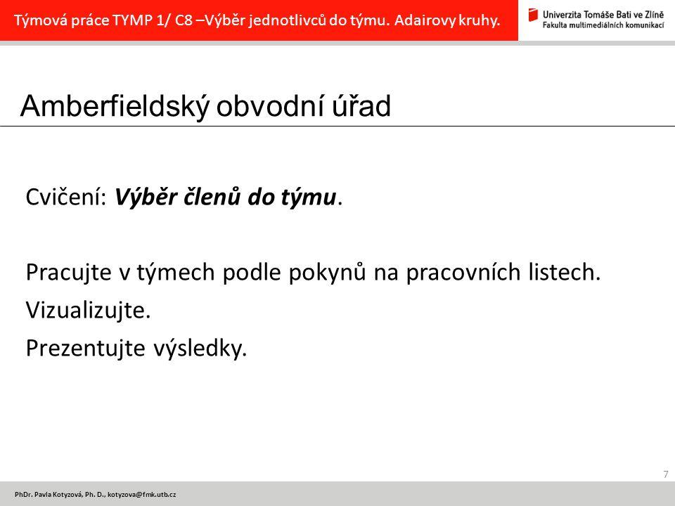 Amberfieldský obvodní úřad 7 PhDr. Pavla Kotyzová, Ph.