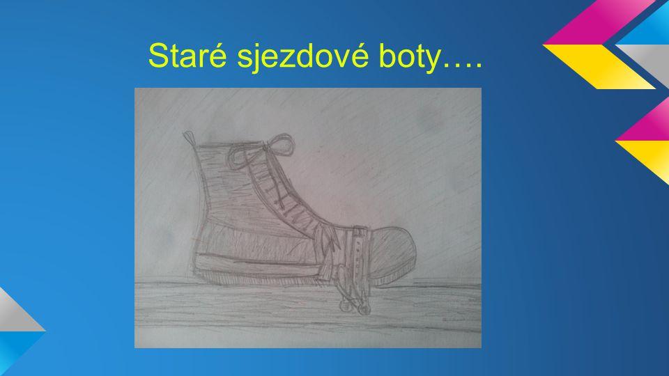 Staré sjezdové boty….