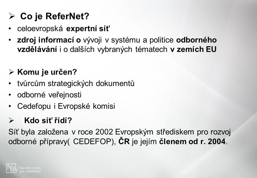 Co je ReferNet.