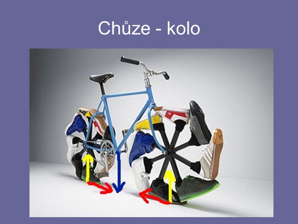 Chůze - kolo