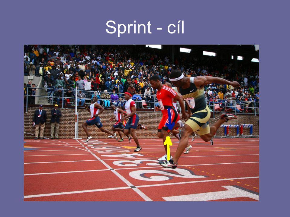 Sprint - cíl