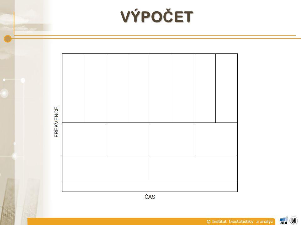 © Institut biostatistiky a analýz VÝPO Č ET