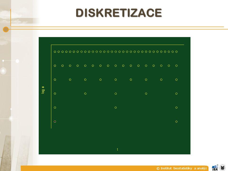 © Institut biostatistiky a analýz DISKRETIZACE