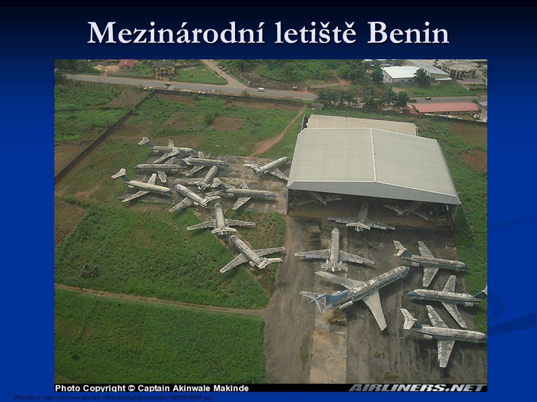 Mezinárodní letiště Benin Převzato z: http://cdn-www.airliners.net/aviation-photos/middle/7/9/6/0815697.jpg