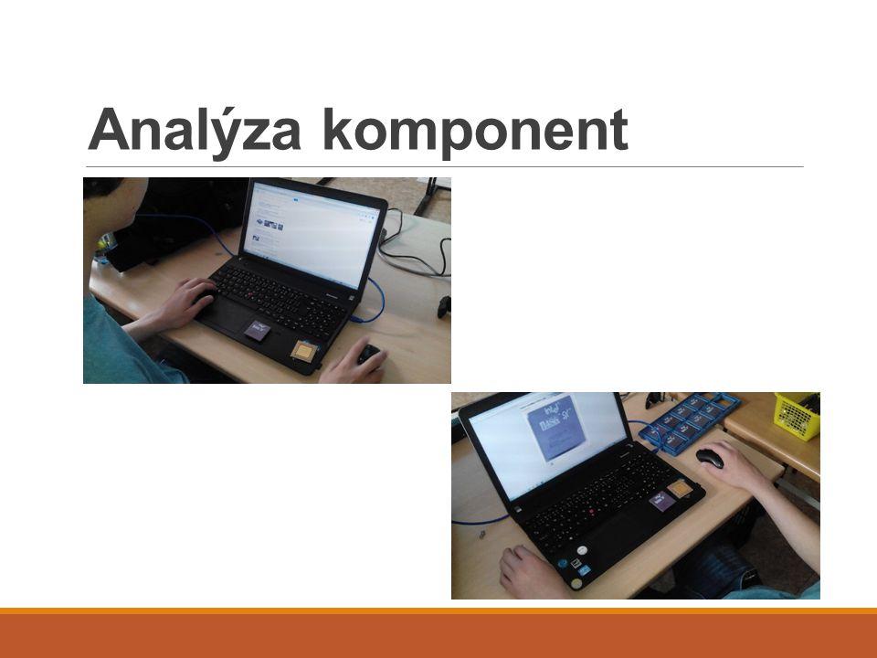 Analýza komponent
