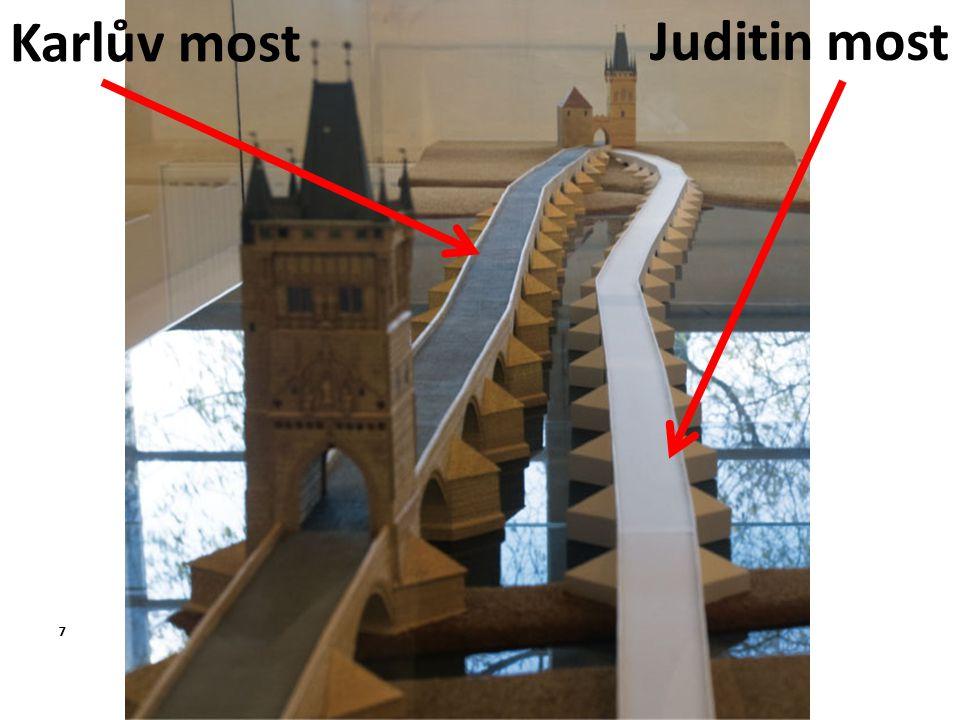 Juditin most Karlův most 7