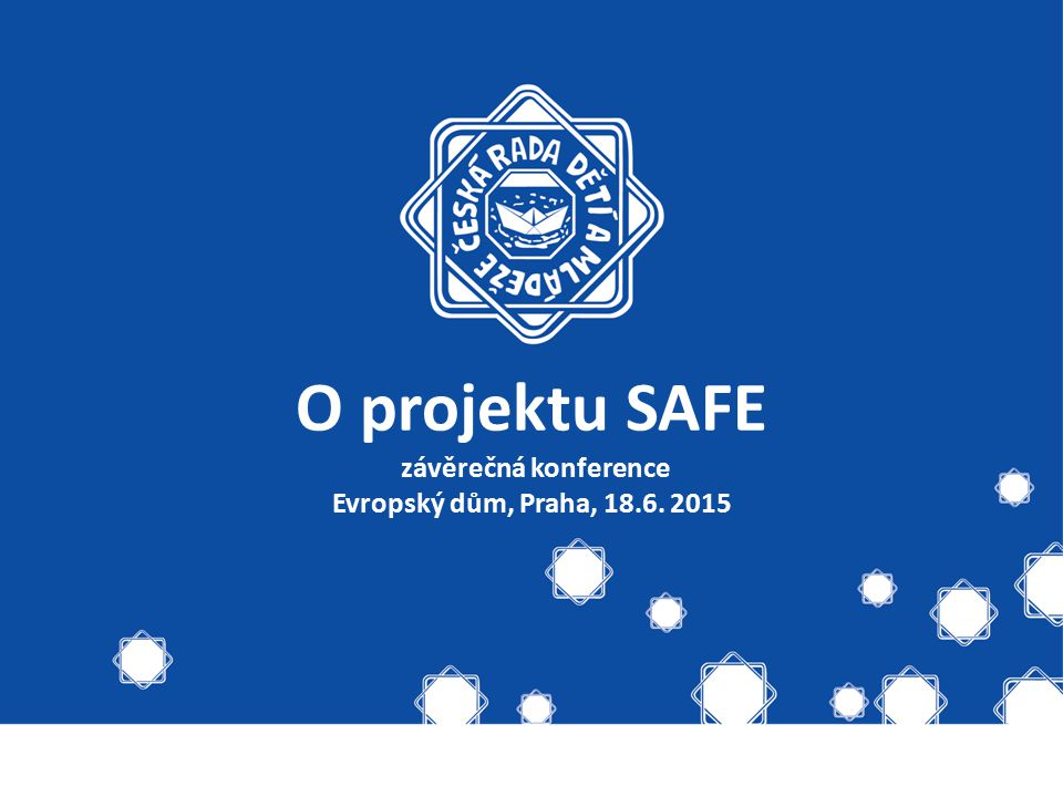 Prezentace měření závěrečná konference Evropský dům, Praha, 18.6. 2015