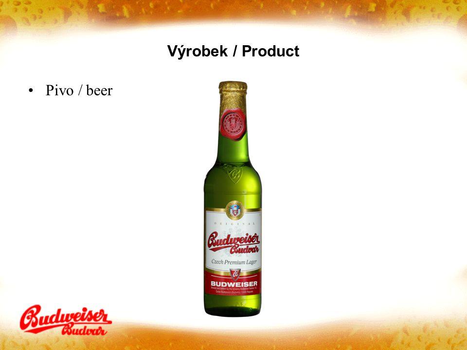 Výrobek / Product Pivo / beer