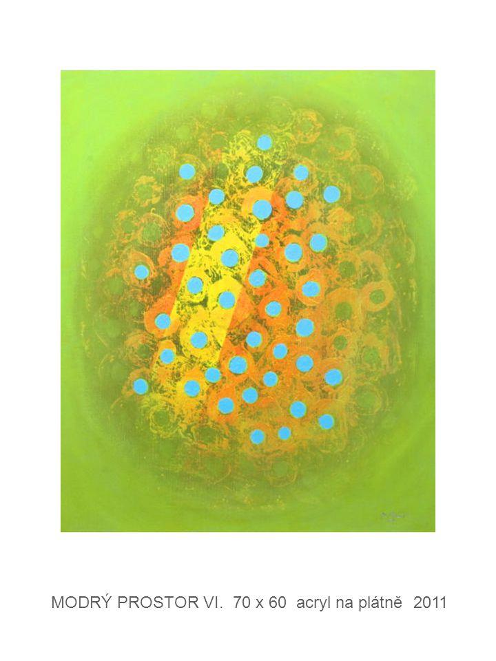 FILTRACE V. 70 x 60 acryl na plátně 2012