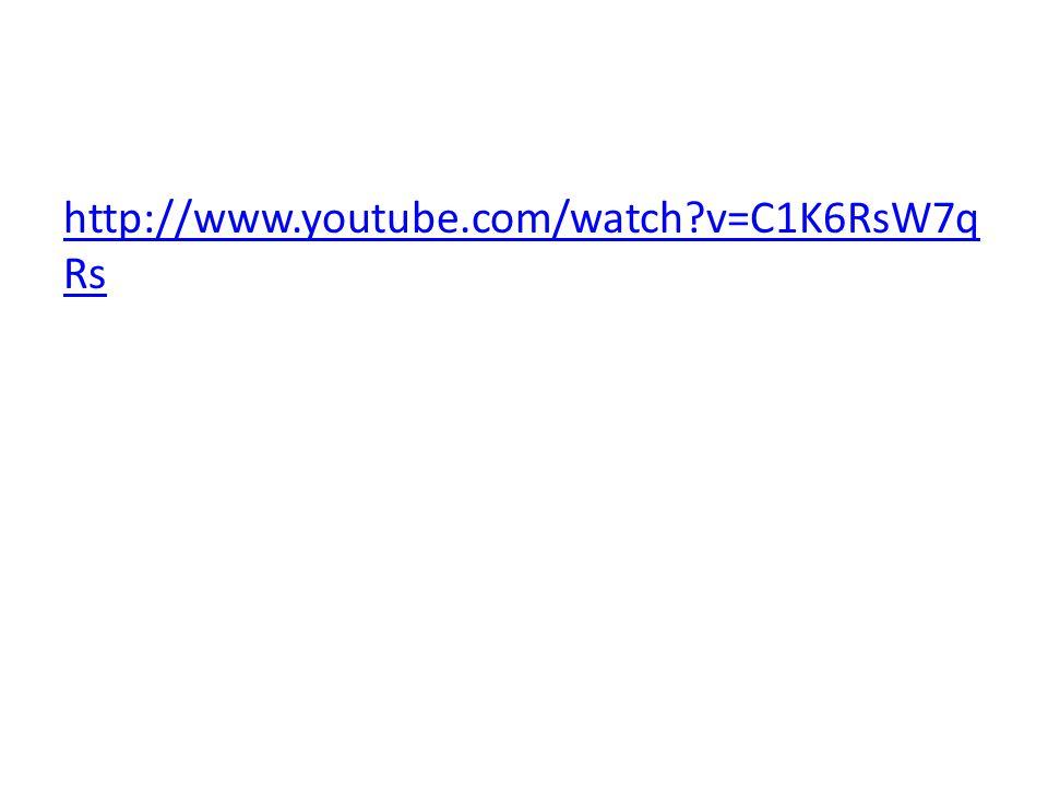 http://www.youtube.com/watch?v=C1K6RsW7q Rs