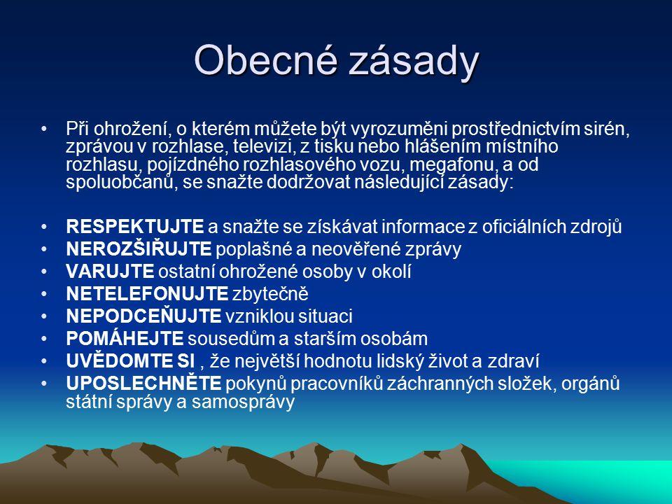 Varovný signál Dnem 1.