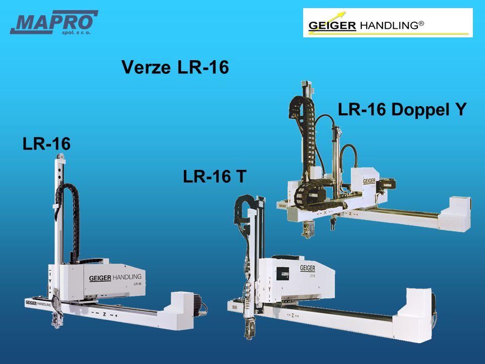 LR-16 LR-16 T Verze LR-16 LR-16 Doppel Y