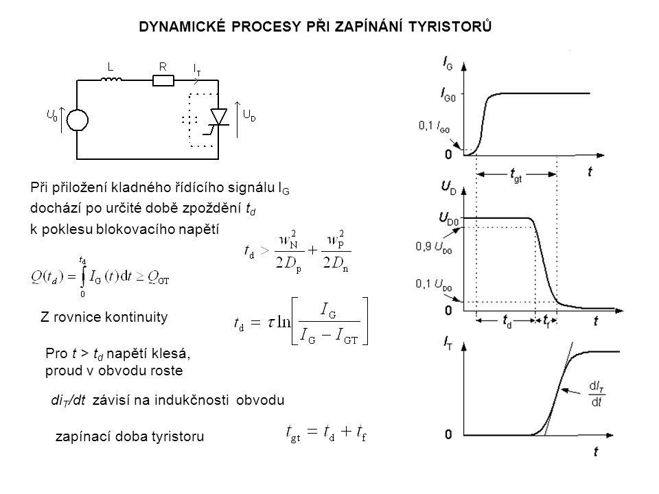 Zásadní řešení bylo nalezeno v optimalizaci vypínacího řídicího impulsu.