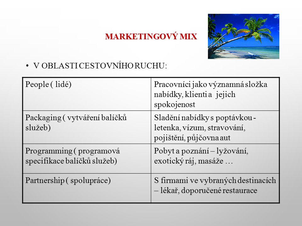 KOMUNIKAČNÍ MIX Promotion, neboli komunikační mix, má informovat spotřebitele a stimulovat ho, aby učinil nákupní rozhodnutí.