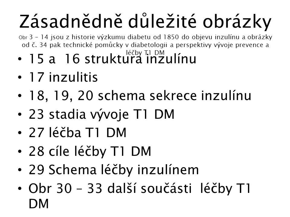 Stadia vývoje T1 DM Eisenbarth G, N.Engl. J. Med, 1986, 1360 - 1368 1.