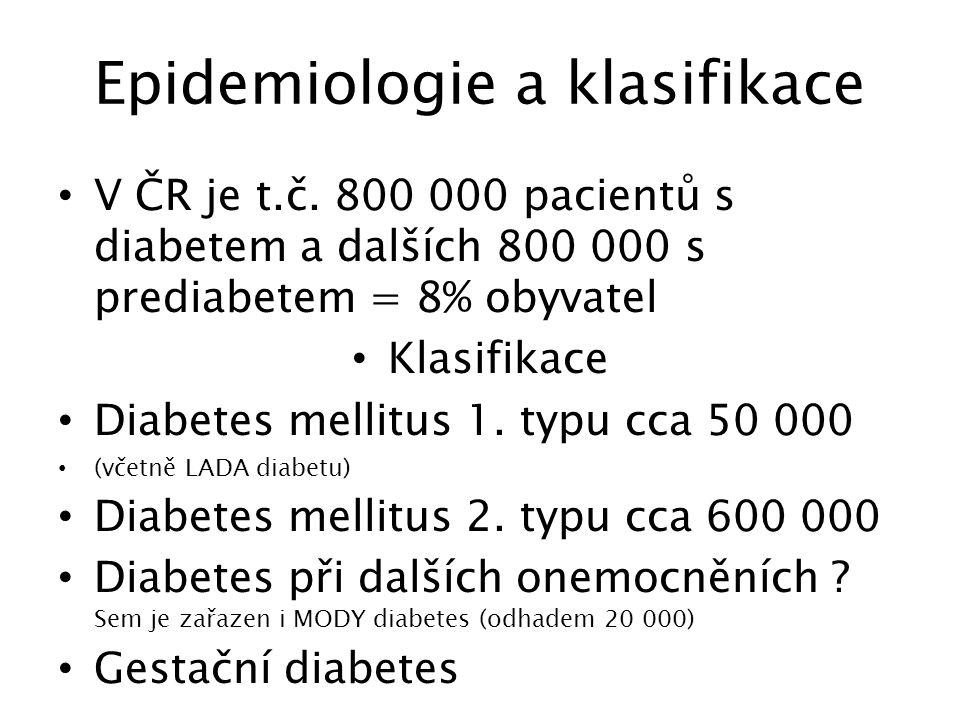 Naděje a otazníky inzulínové léčby ve 3.tisiciletí Naděje Spojení inzulínové pumpy a kontinuláního monitoringu do jednoho systému Otazníky Přesnost měření po několika dnech Nepřesná analogie aplikace inzulínu do spádu velkého krevního oběhu