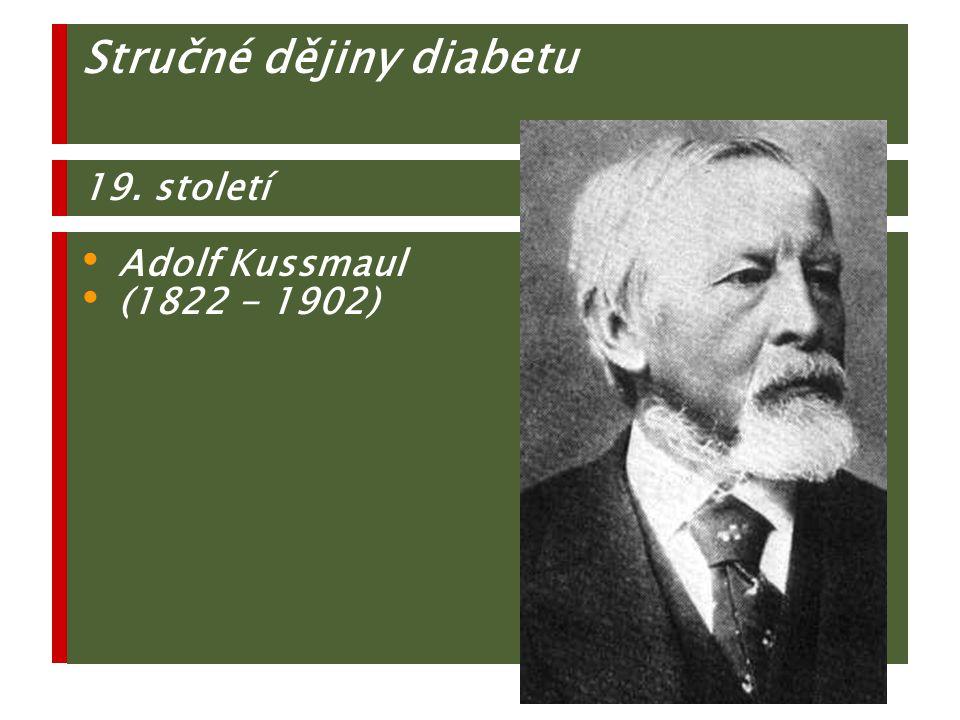 Insulitis 1985 F.Botazzo: T1 DM je orgánově specifické autoimunní onemocnění