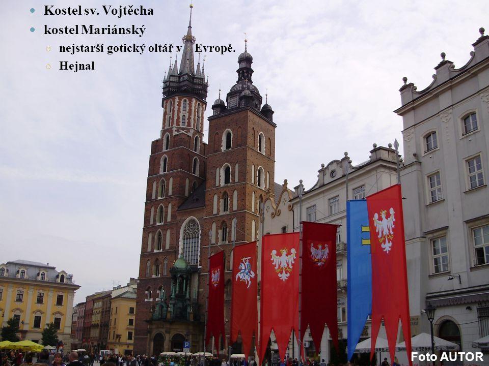 Kostel sv. Vojtěcha kostel Mariánský ○ nejstarší gotický oltář v Evropě. ○ Hejnal Foto AUTOR