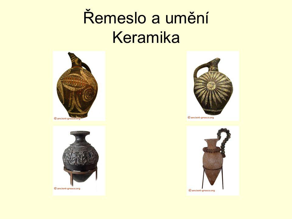 Řemeslo a umění Keramika