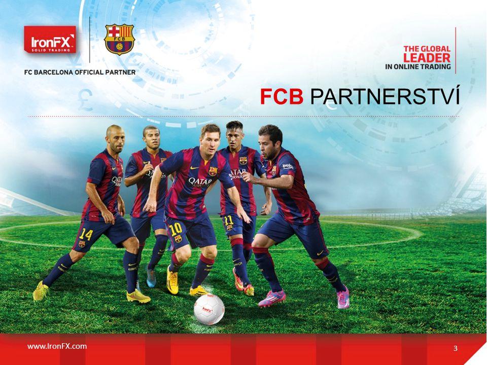 FCB PARTNERSTVÍ 3 www.IronFX.com