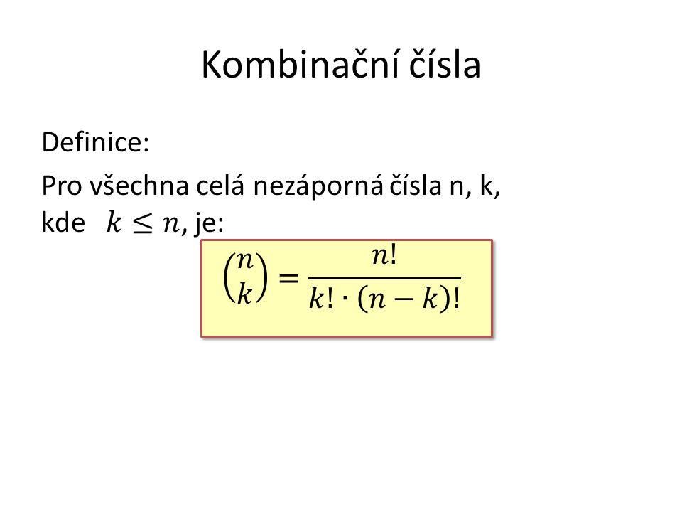 Kombinační čísla