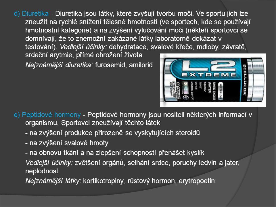 Zakázané dopingové metody A.KREVNÍ DOPING Krevní doping je podání krve a příbuzných krevních produktů sportovci.Účel.