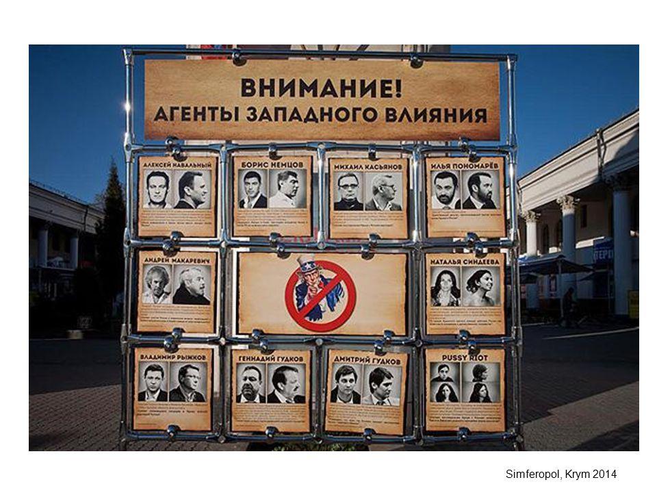 Simferopol, Krym 2014