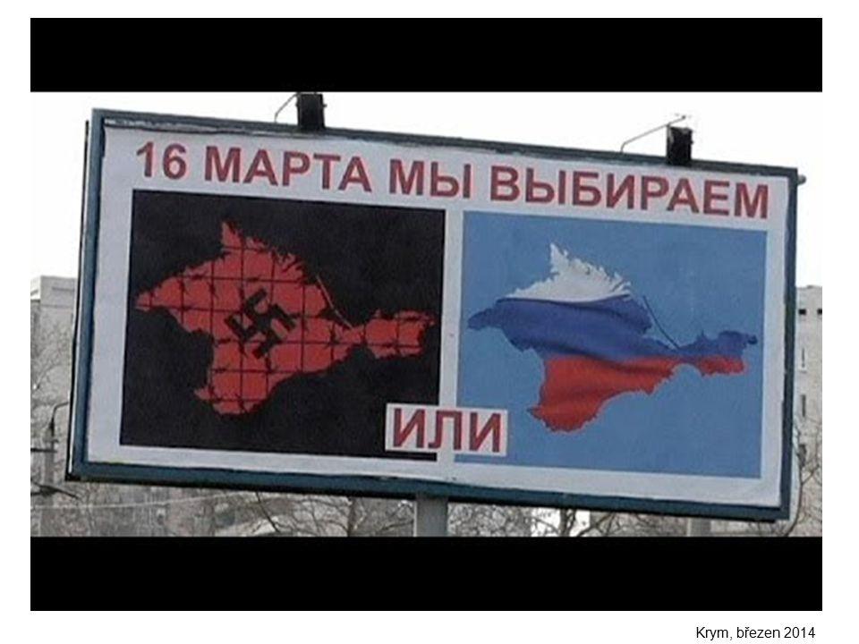 Krym, březen 2014