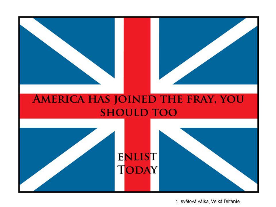 1. světová válka, Velká Británie