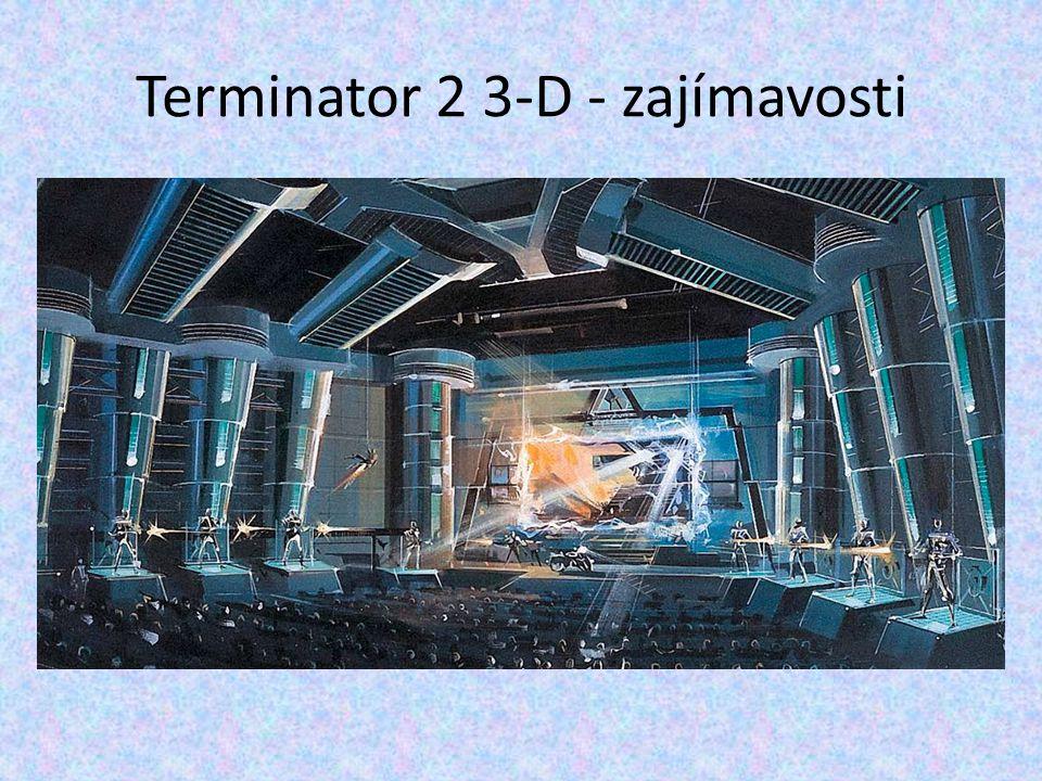 Terminator 2 3-D - zajímavosti