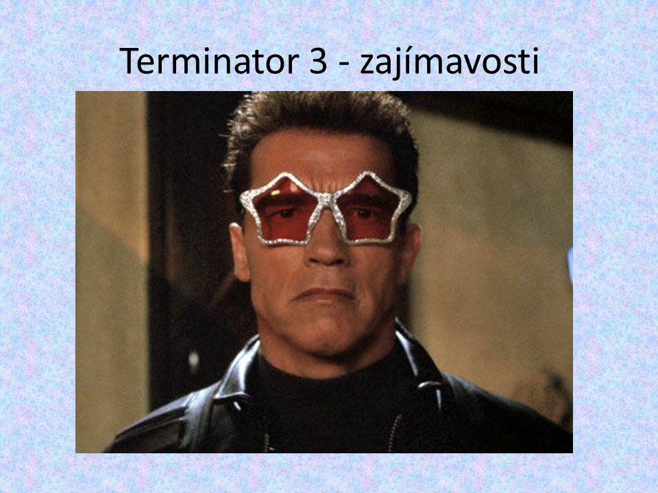 Terminator 3 - zajímavosti