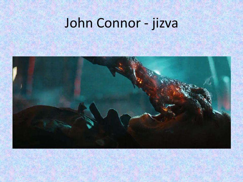 John Connor - jizva