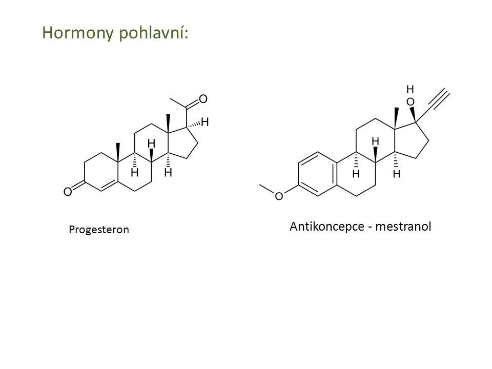 Antikoncepce - mestranol Progesteron